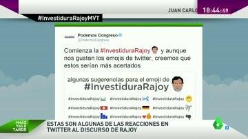 Con críticas irónicas por los recortes y la corrupción, así reaccionan los partidos en Twitter al discurso de Rajoy