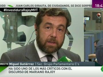 """Gutiérrez: """"El discurso de Rajoy ha sido plano, sin pasión alguna y electoralista ¿de verdad quiere ser presidente?"""""""