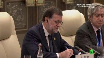 Sudoku, el nuevo pasatiempo de Mariano Rajoy