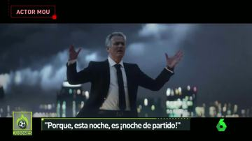 La arenga más intensa de Mourinho