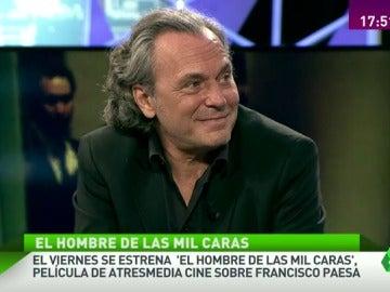 """José Coronado: """"Paesa fue un gran maestro de muchos que hoy están haciendo 'barrabasadas'"""""""