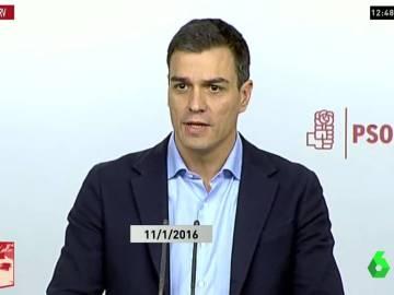 """La hemeroteca deja en evidencia a Sánchez: insistía en que habría Congreso """"al resolverse el Gobierno de España"""""""