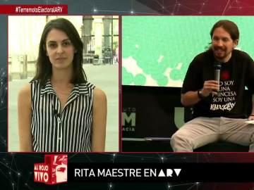 """Rita Maestre: """"En Podemos se habla de formas y contenidos; son aspectos compatibles"""""""