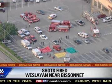 Al menos seis heridos en un tiroteo en Houston