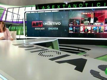 laSexta volvió a ser referencia informativa en la noche del 25S
