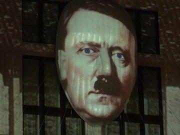 Polémica en Berlín por la proyección de una imagen de Hitler en una fachada