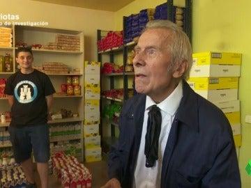 """Uno de los españoles ayudados por Hogar Social: """"Que hubiese un Franco hoy, para mí sería lo ideal"""""""