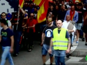 La ultraderecha, una ideología capaz de unir a ultras del Real Madrid y el Atlético de Madrid