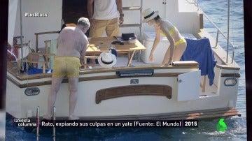 Entre yates y cacerías, así gastaban el dinero con las 'black' Rodrigo Rato y Miguel Blesa