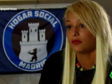 """Melisa Domínguez: """"Hogar Social Madrid es una organización patriota que lucha por la justicial social de su pueblo"""""""