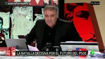 """Ferreras responde a un concejal del PSOE: """"Salaya, no vamos a pedirte permiso ni a ti ni a nadie para hacer periodismo"""""""