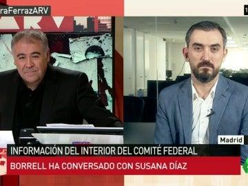 """Ignacio Escolar: """"Susana Díaz está achicharrada, así no recuperará los campos electorales que perdió Sánchez"""""""
