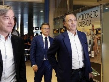 Prandelli, a su llegada a Valencia