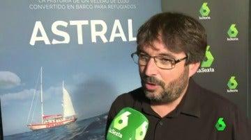 """Jordi Évole, emocionado en el preestreno de 'Astral': """"Deberíamos empatizar más, podríamos ser cualquiera"""""""