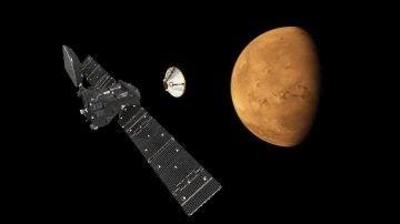 Europa no logra pisar suelo marciano: la sonda 'ExoMars' falló en los últimos segundos del descenso a Marte