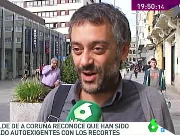 """Xulio Ferreiro reconoce que son demasiado exigentes con los recortes en asesores: """"Hay que cumplir la promesa electoral"""""""