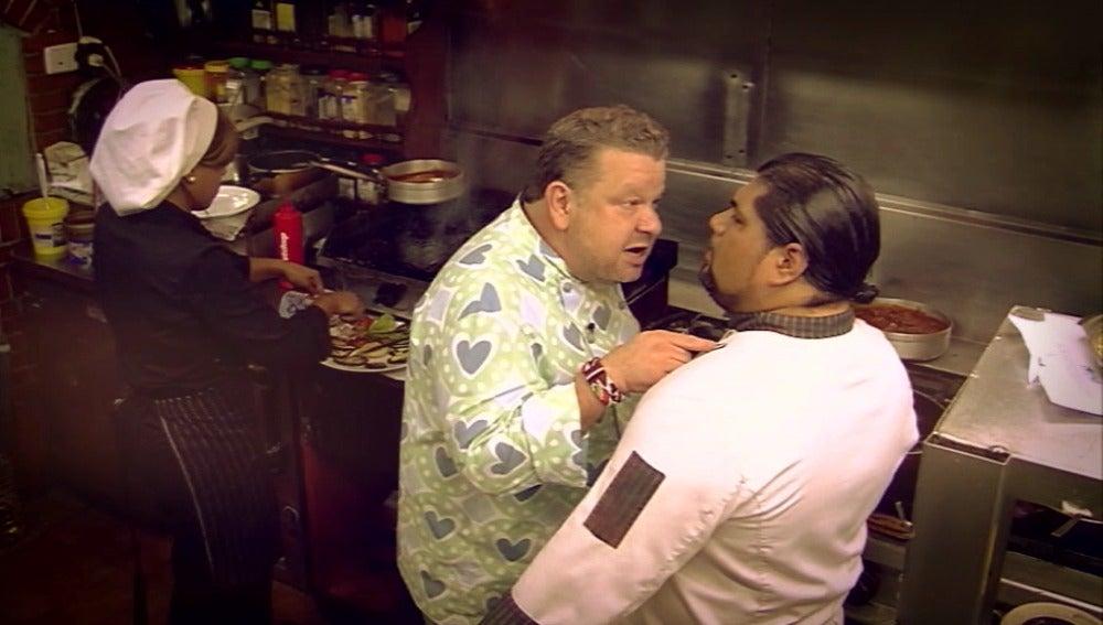 Chicote se enfrenta a uno de los mayores retos que ha vivido en Pesadilla en la cocina: