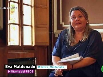 """Eva, militante del PSOE: """"No deberían obviar ni despreciar a muchos miles de militantes"""""""