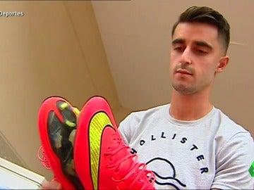 """Víctor Pino, el chico que se retiró del fútbol con 21 años: """"Tenía que cambiar algo en mi vida, no era feliz"""""""
