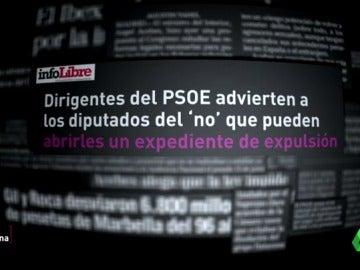 El precio de la desobediencia: ¿y si voto en contra de la decisión del Comité Federal del PSOE?