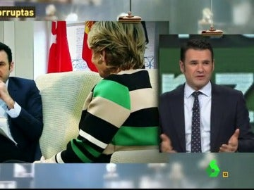 """Iñaki López, a Aguirre: """"En su despacho, hablando de su libro, una hora... qué pronto se olvida usted de mí"""""""