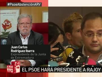 """Rodríguez Ibarra: """"El PSOE no caerá en la trampa de Pablo Iglesias"""""""