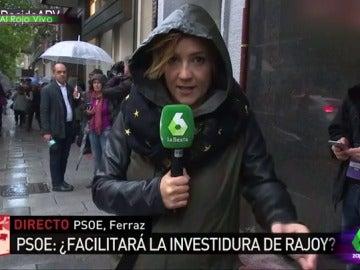 """Anna Simon alucina con el flequillo de Cristina Pardo: """"¡Es increíble, tiene vida propia e incluso derecho al voto!"""""""