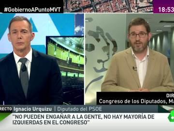 """Ignacio Urquizu: """"El PSOE acepta el coste de desbloquear una situación política"""""""