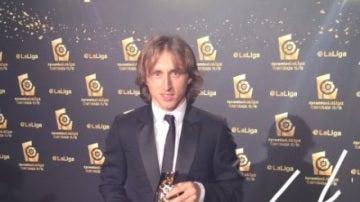Luka Modric, mejor centrocampista de la pasada temporada