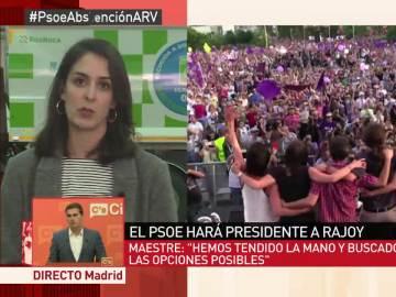 """Rita Maestre: """"Podemos va a ser la fuerza hegemónica de la oposición; el PSOE está deslegitimado"""""""