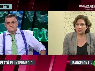 """Ada Colau: """"Exigimos a Interior que regulase la situación ilegal de los CIE pero no ha querido hacer nada"""""""