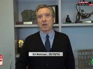 """Iñaki Gabilondo: """"El PSOE tiene un porvenir muy muy difícil; Podemos le soplará permanentemente en el cogote"""""""