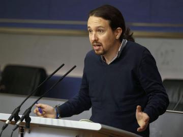 """Pablo Iglesias respalda la manifestación de 'Rodea el Congreso': """"Es saludable que los ciudadanos ejerzan sus derechos"""""""