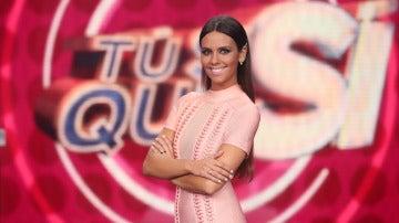 Cristina Pedroche posa así de espectacular en el plató de Tú sí que sí