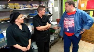 """Una cocinera de carácter fuerte, en Pesadilla en la cocina: """"Igual le dicen 'hola, bonita' y suelta 'bonita, tu puta madre'"""""""