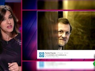 """Llum Barrera, de la foto del PP: """"¿Anuncian a su candidato o Halloween? 'Ya estoy aquí... para otros cuatro años'"""""""