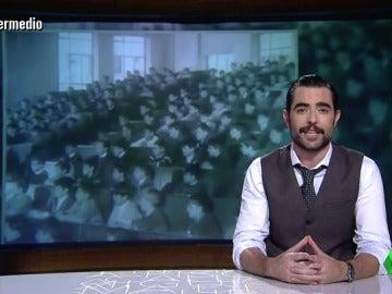 """Dani Mateo, sobre las reválidas de la LOMCE: """"El Franco de los años 60 era más moderno que el PP de 2016"""""""