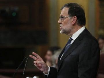 """Mariano Rajoy: """"Flaco favor haríamos a los españoles haciéndoles creer que basta con tener Gobierno"""""""