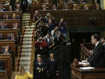Rajoy ofrece acuerdos en pensiones, educación, financiación autonómica y anticorrupción