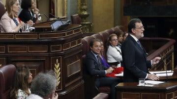 """Mariano Rajoy: """"Ofrezco un Gobierno abierto al diálogo y a negociar todas las decisiones"""""""