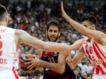 El Barcelona ante el Estrella Roja de Belgrado