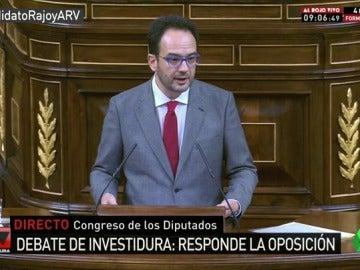 """Antonio Hernando justifica su viraje a la abstención: """"Rajoy no nos gusta como presidente del Gobierno, nos gusta este país"""""""