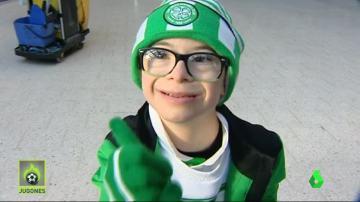 Jay, el aficionado más famoso de Celtic Park
