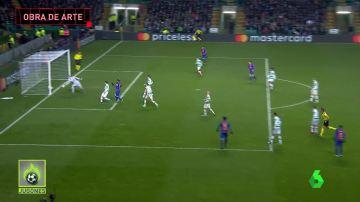 El golazo fabricado por Neymar y Messi
