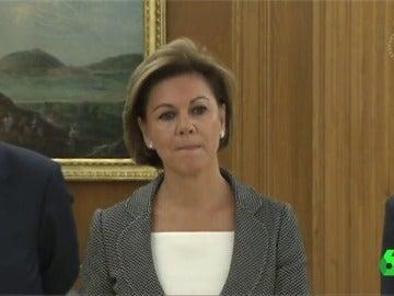 María Dolores de Cospedal es expulsada en su primera nominación para abandonar el nuevo Gobierno
