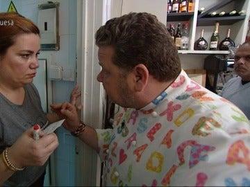 """Chicote presiona a María para convertir el servicio en un éxito: """"Ni Ron, ni María ni 'Sanpitopato'. Si estás perdida ponte en orden"""""""
