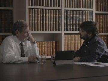 """Jordi Évole, cara a cara con Juan Luis Cebrián: """"Vienes a laSexta, que digamos que no es tu cadena favorita"""""""