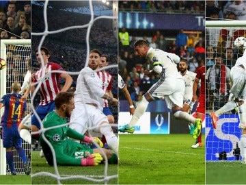 Goles decisivos de Ramos con el Real Madrid