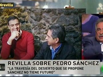 """Revilla no ve a Pedro Sánchez como secretario general: """"Una cosa es coger el coche cada día y otra cada 30"""""""