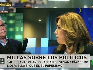 """Juan José Millás: """"Susana Díaz es la encarnación pura del populismo"""""""